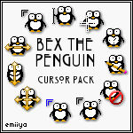 Penguin Cursor Pack