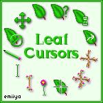 Leaf Cursor Pack by Emiiya