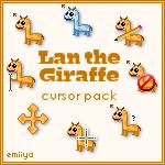 Giraffe Cursor Pack by Emiiya