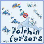 Dolphin Cursor Pack
