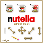 Nutella Cursor Pack
