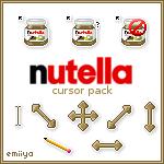 Nutella Cursor Pack by Emiiya