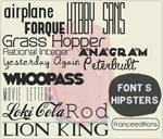 Hipster Font's
