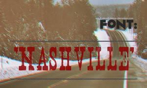 Nashville. Font
