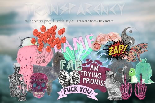 48 Png . Tumblr Style by FranceEditions