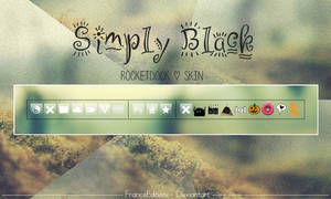 Simply Black - Rocket. Skin