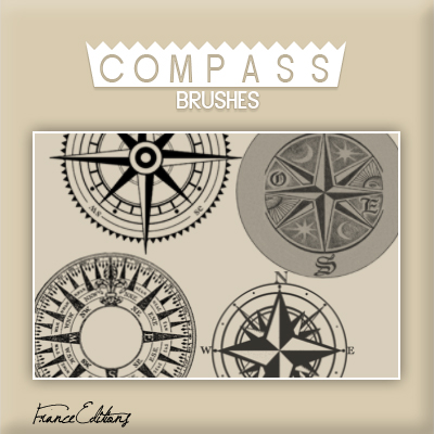 Compass Brushes by FranceEditions