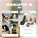 WeHeartIt ID .psd