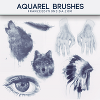 Aquarel // Brushes