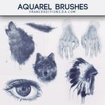 Aquarel // Brushes