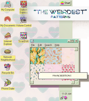 THEWEIRDEST // Patterns by FranceEditions