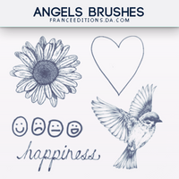 Angels // Brushes by FranceEditions