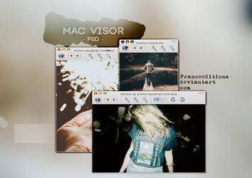 Visor Mac // PSD