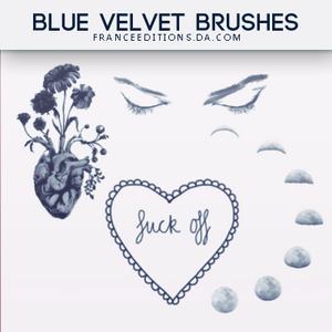 Blue Velvet // Brushes