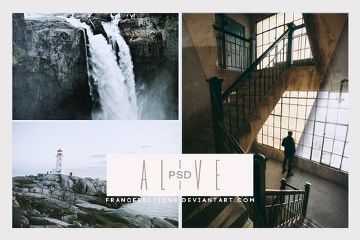 Alive // .PSD