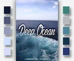 Deep Ocean // SWATCHES