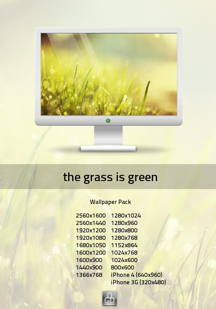 the grass is green by omer-oGD