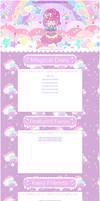 Kawaii fairy-kei Rainbow Star Journal