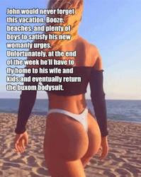 Buxom Bodysuit Vacation GIF