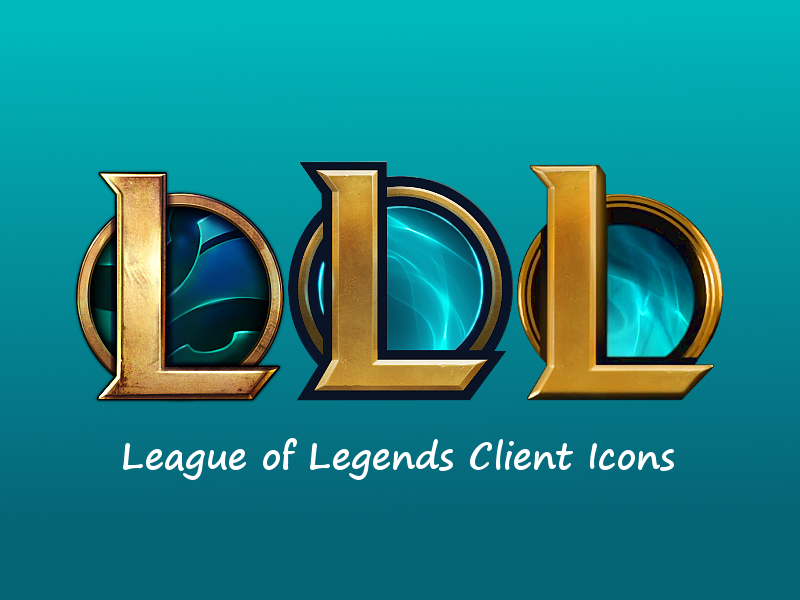 League of Legends Client Icons by Dominic94Bosco on DeviantArt