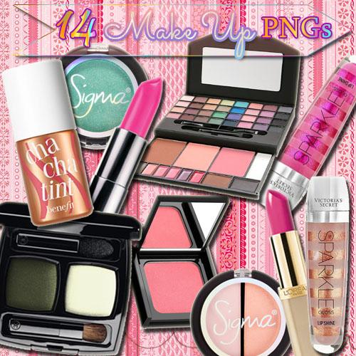 14 Make Up Pack 2 by paumyself