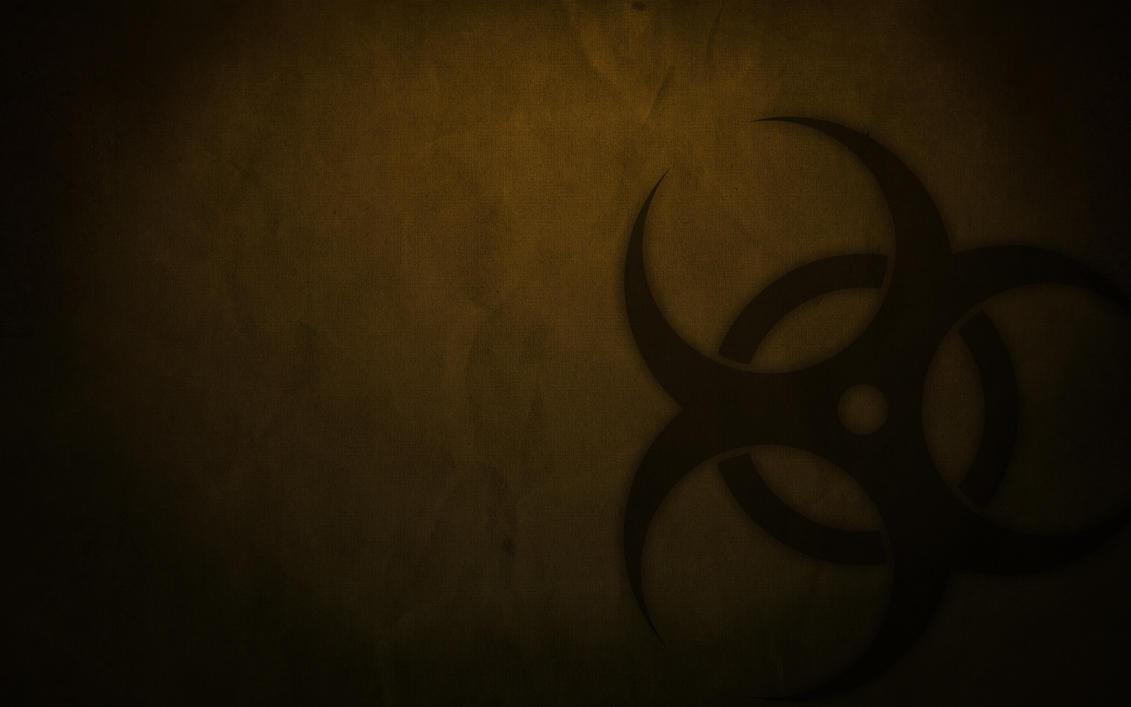 grunge biohazard wallpaper.grazx on deviantart