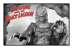 Creature From The Black Lagoon Stamp by Leviarex