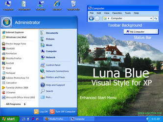 Luna Blue by Vher528