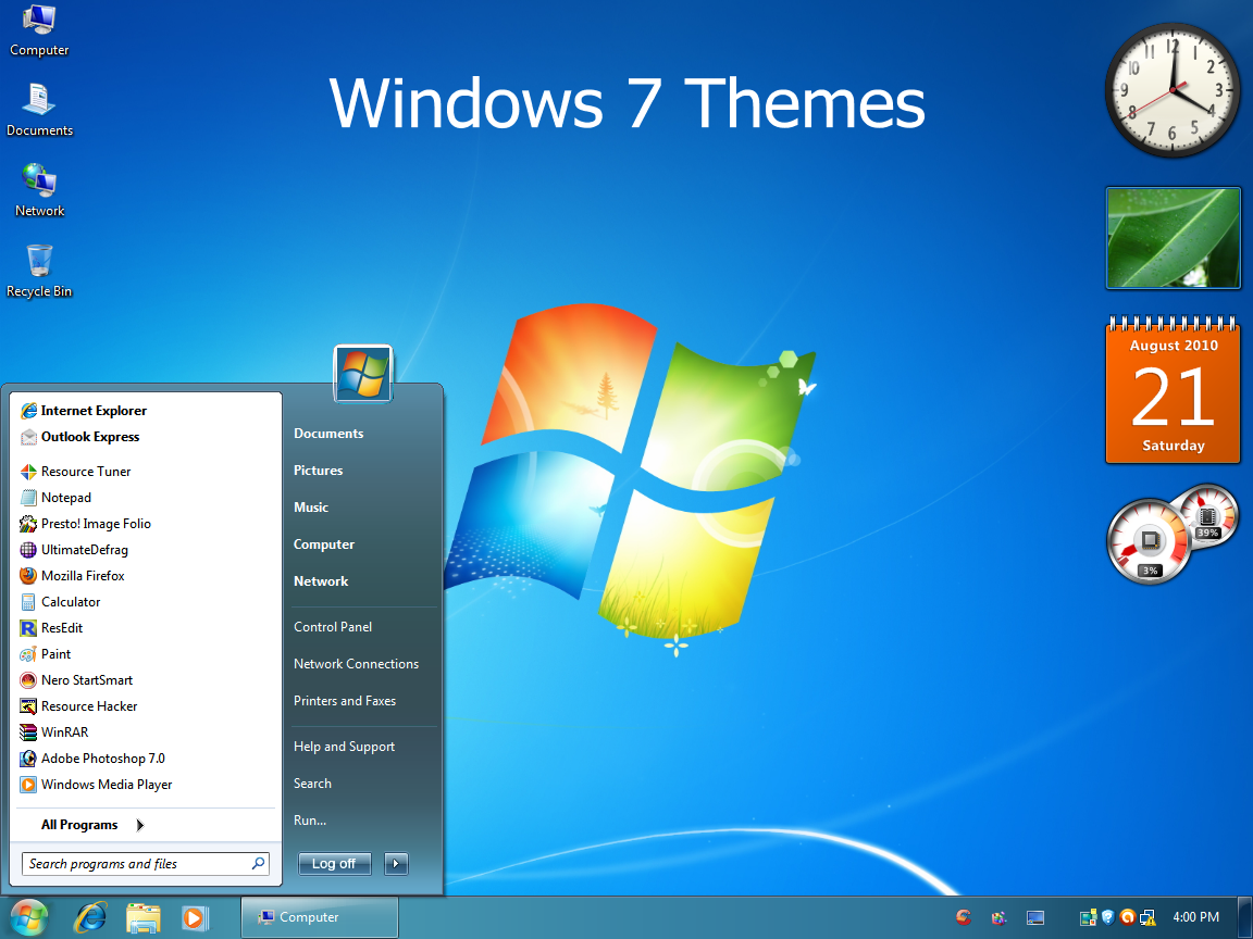 Windows 7 themes by vher528 on deviantart for Window 07 themes