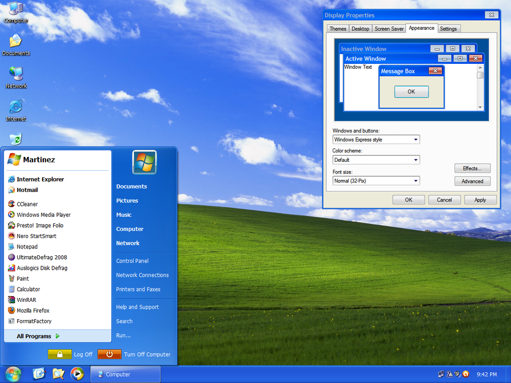 windows xp infected theam - photo #4
