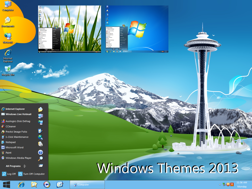 Windows themes 2013 by vher528 on deviantart for Window 07 themes