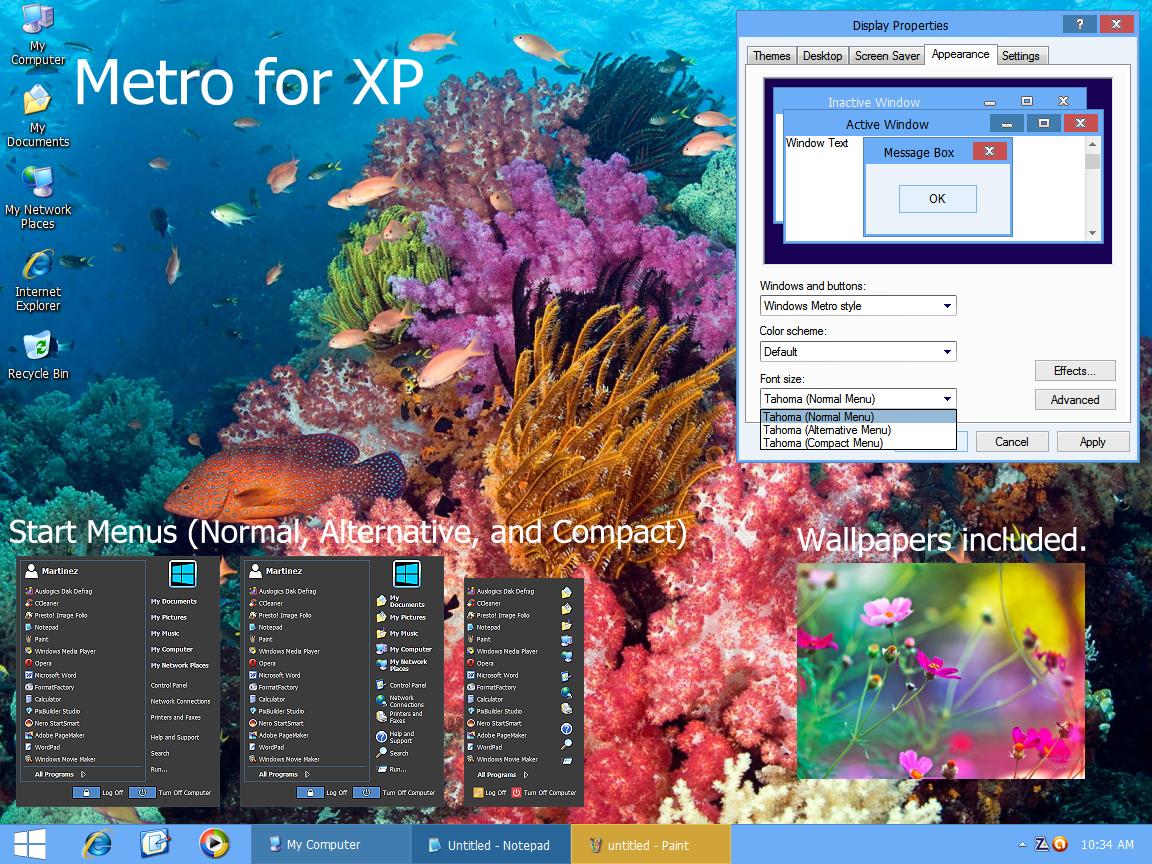 New Metro for XP
