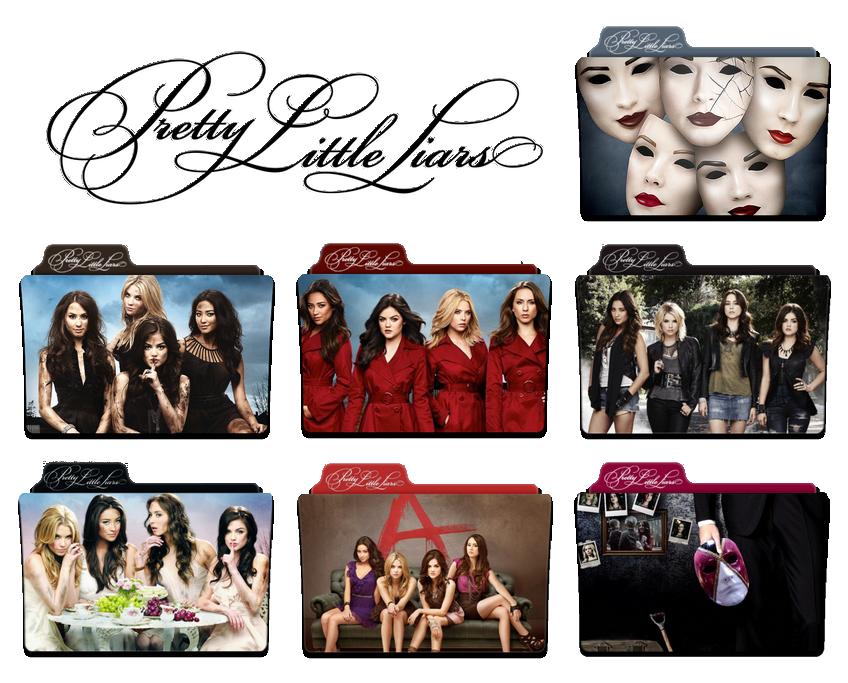 Pretty Little Liars First Book Cover ~ Pretty little liars season to a folder icon by