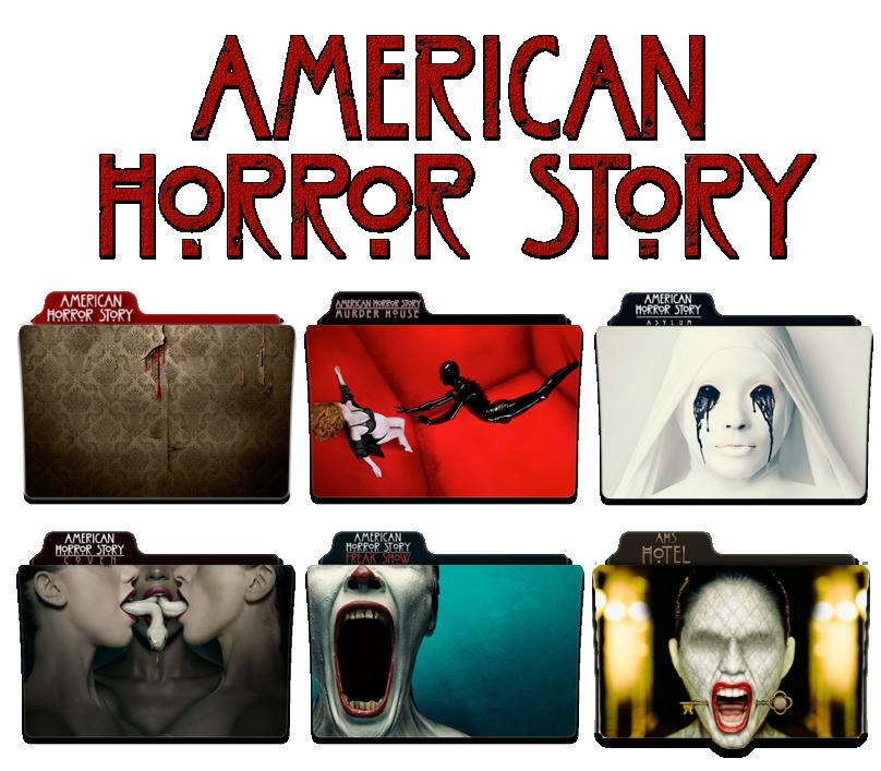 American Horror Story - Season 1 to 5 FOLDER ICON by NickoHetenbern