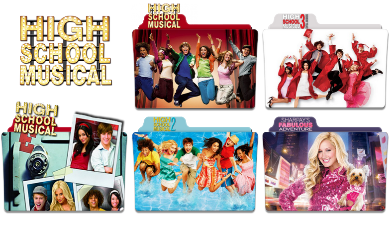 High School Musical FOLDER ICON PACK by NickoHetenbern ...