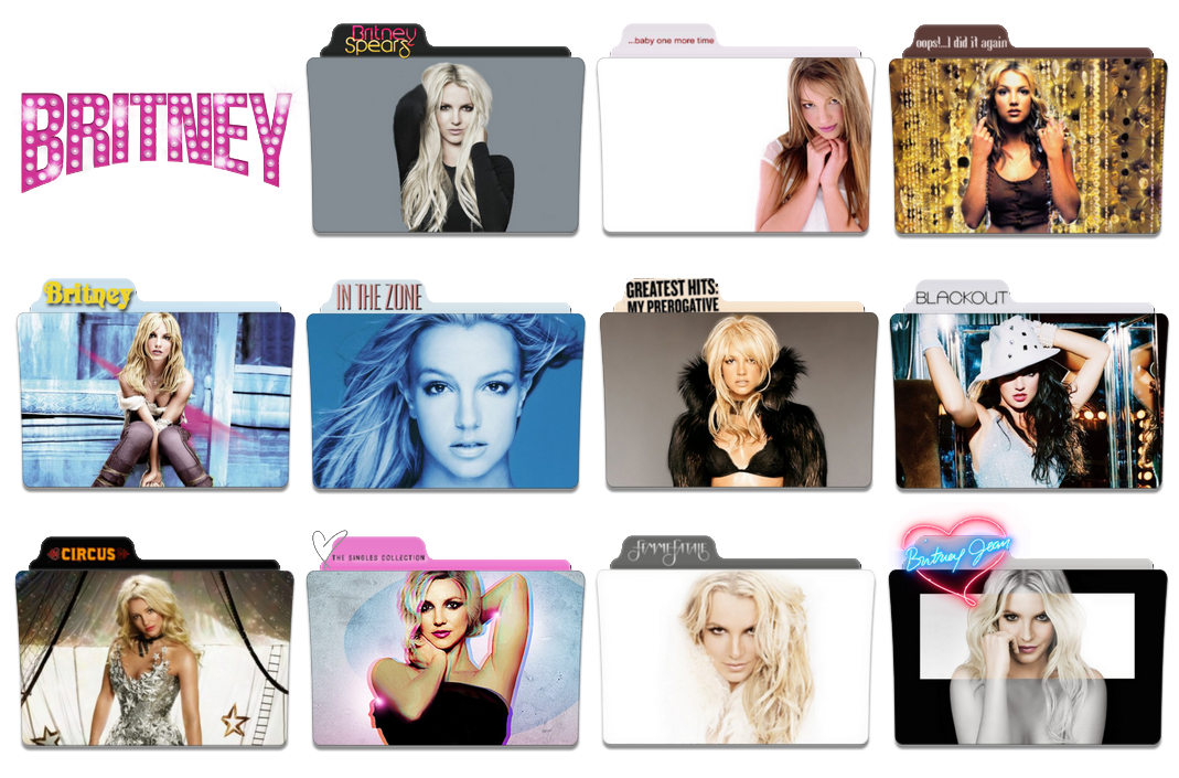 britney spears discography download zip