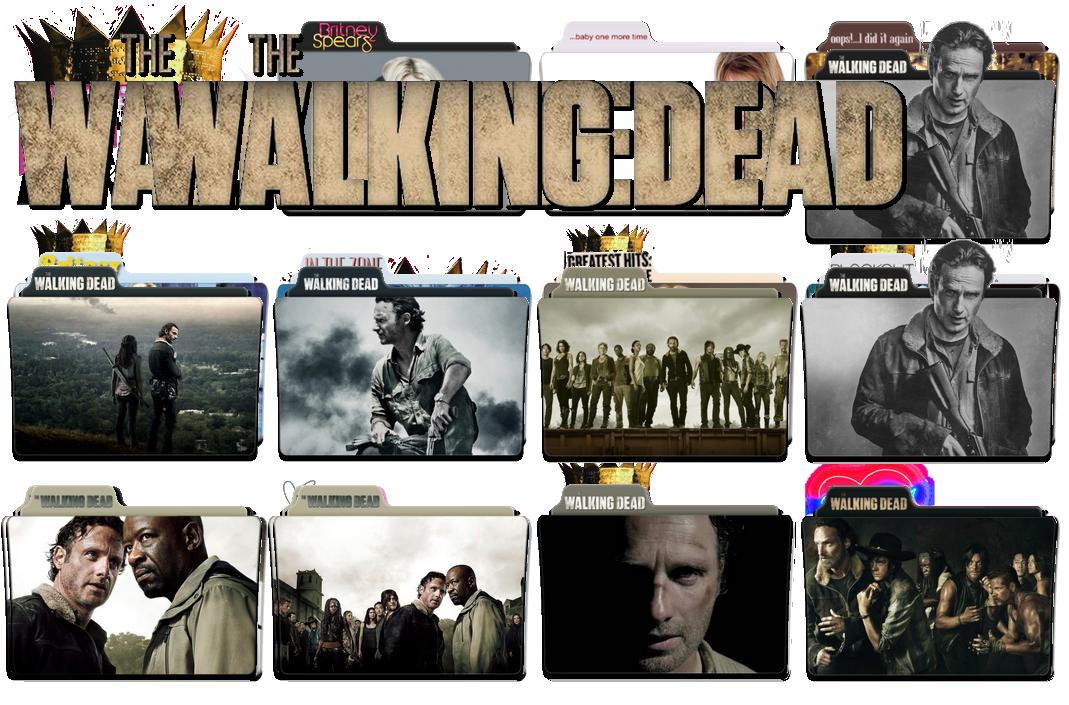 The Walking Dead Folder Icon Deviantart Walk Images And