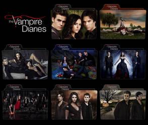 The Vampire Diaries - Season 1 to 7 FOLDER ICON