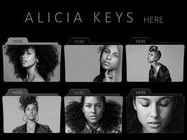 Alicia Keys - Here FOLDER ICON PACK