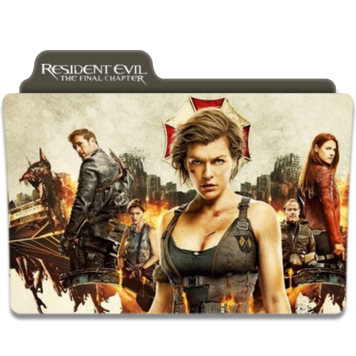 Resident Evil: The Final Chapter FOLDER ICON by