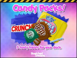 Candy Packs by sketched-dreams