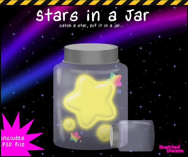 Stars in a Jar by sketched-dreams