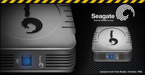 Seagate External HD Icon