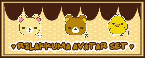 Rilakkuma Avatar Set by Abblecrumble