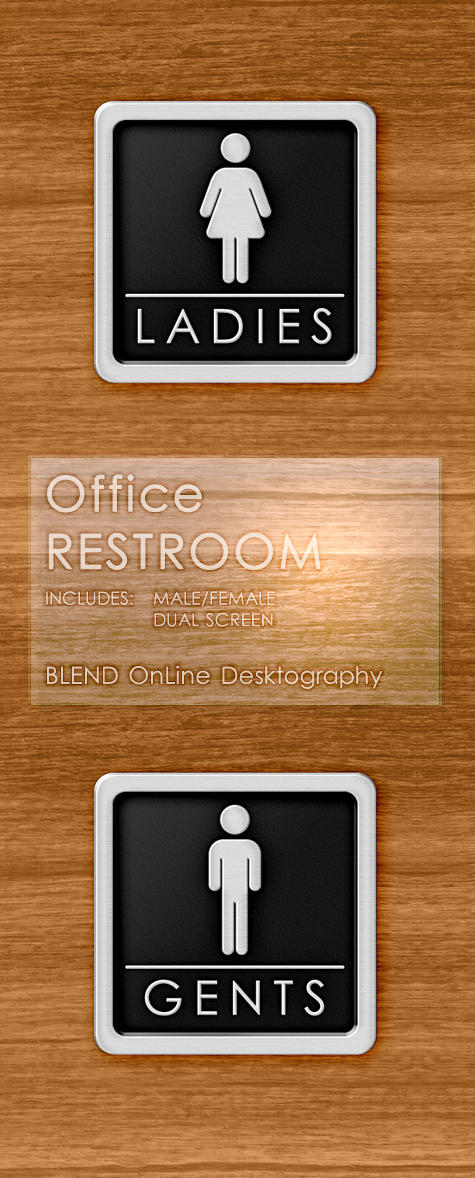 Office Restroom by blend