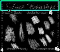 Fur Brushes by Snow-Body