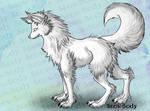 PSD Lineart Canine