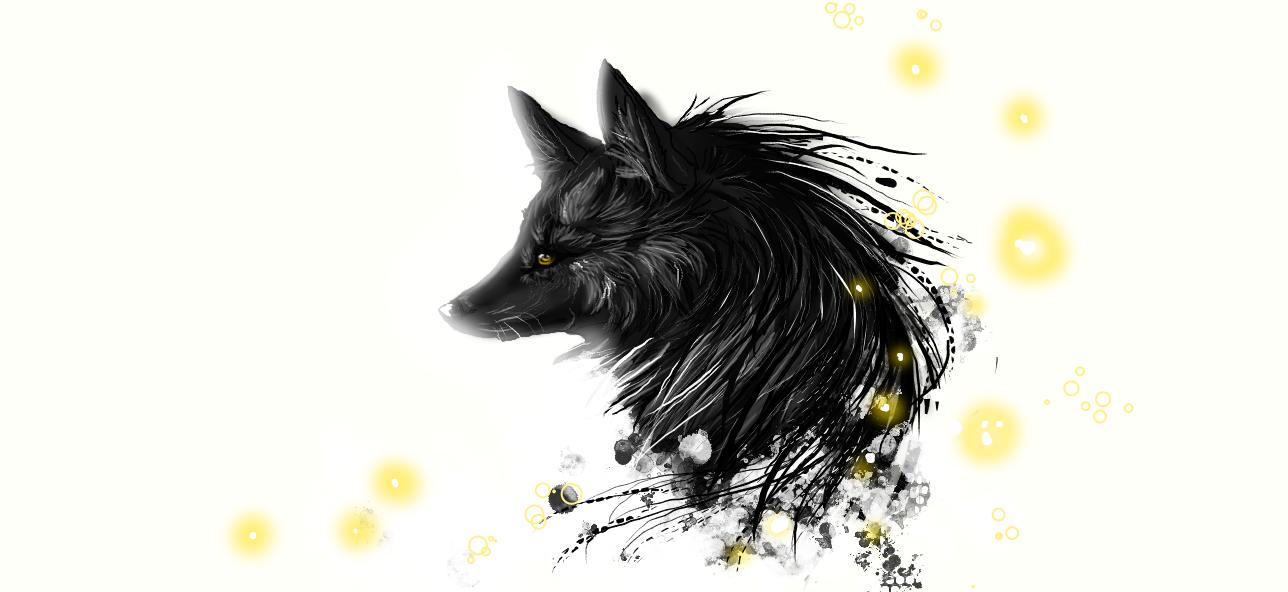 damuro black wolf by snow body