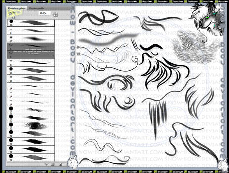 illustrator brushes favourites by JellyBelly44 on DeviantArt