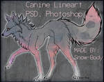 Canine LineART.psd